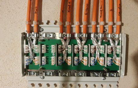Elektroinstallation innen