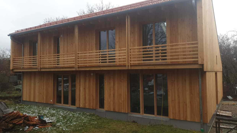 Kompl. Elektroinstallation Holzhaus